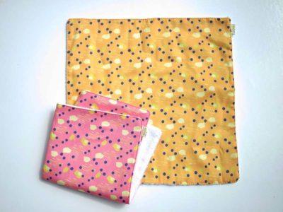 serviettes imprimé coton bio ka.ji.ji kajiji