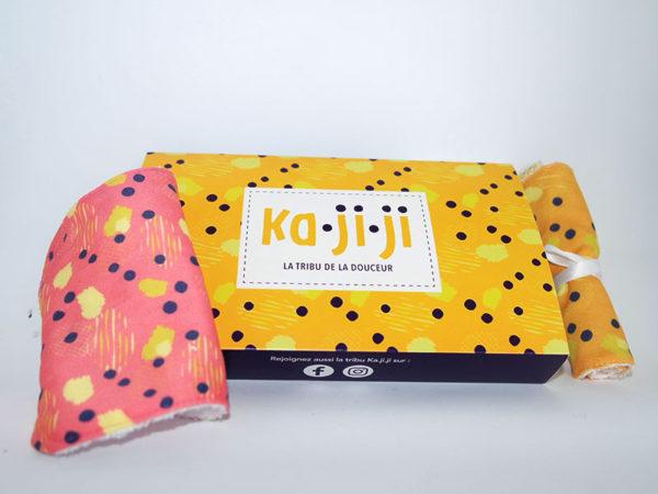 pack de lingettes lavables bébé ka-ji-ji kajiji ka.ji.ji