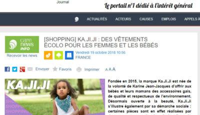 Article Ka.ji.ji Carenews