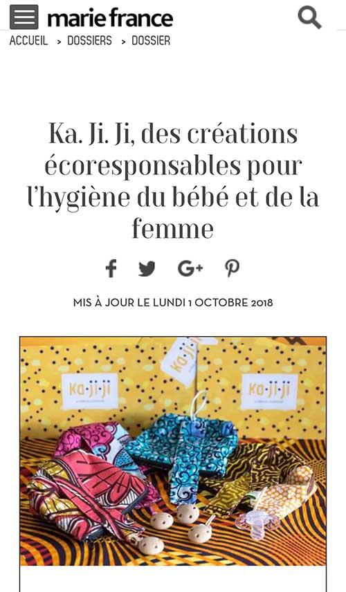 marie france magazine ka.ji.ji