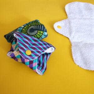 serviette hygiénique lavable