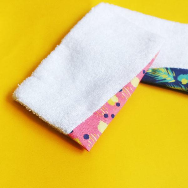 gant bambou coton coloré