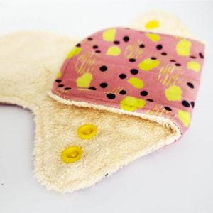 protection périodique coton bio rose
