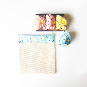 kit de protège slips lavables bio
